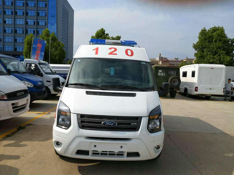 福特新世代V348长轴运输型救护车