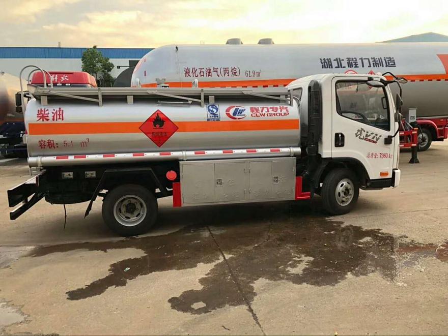 解放虎威5吨流动加油车