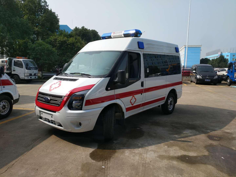 新时代全顺V348短轴运输型救护车(柴油)
