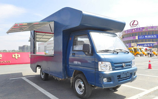 福田售货车图片