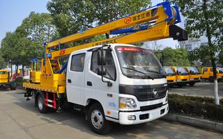 福田欧马可14米高空作业车图片