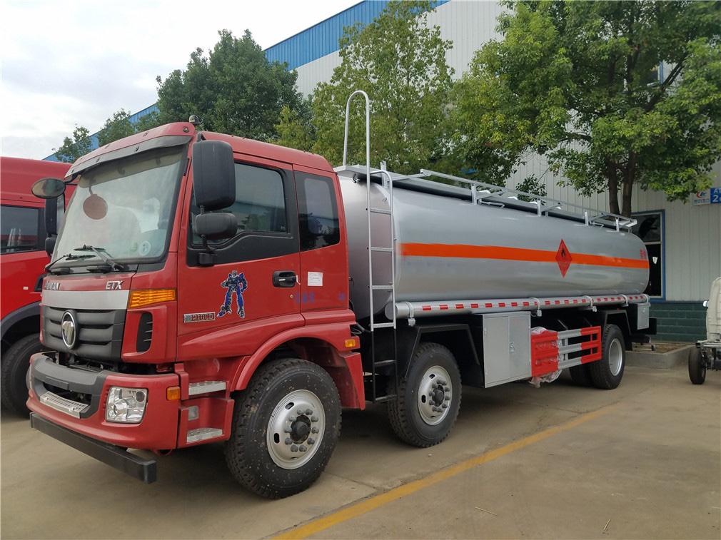 福田歐曼小三軸(26方)鋁合金運油車