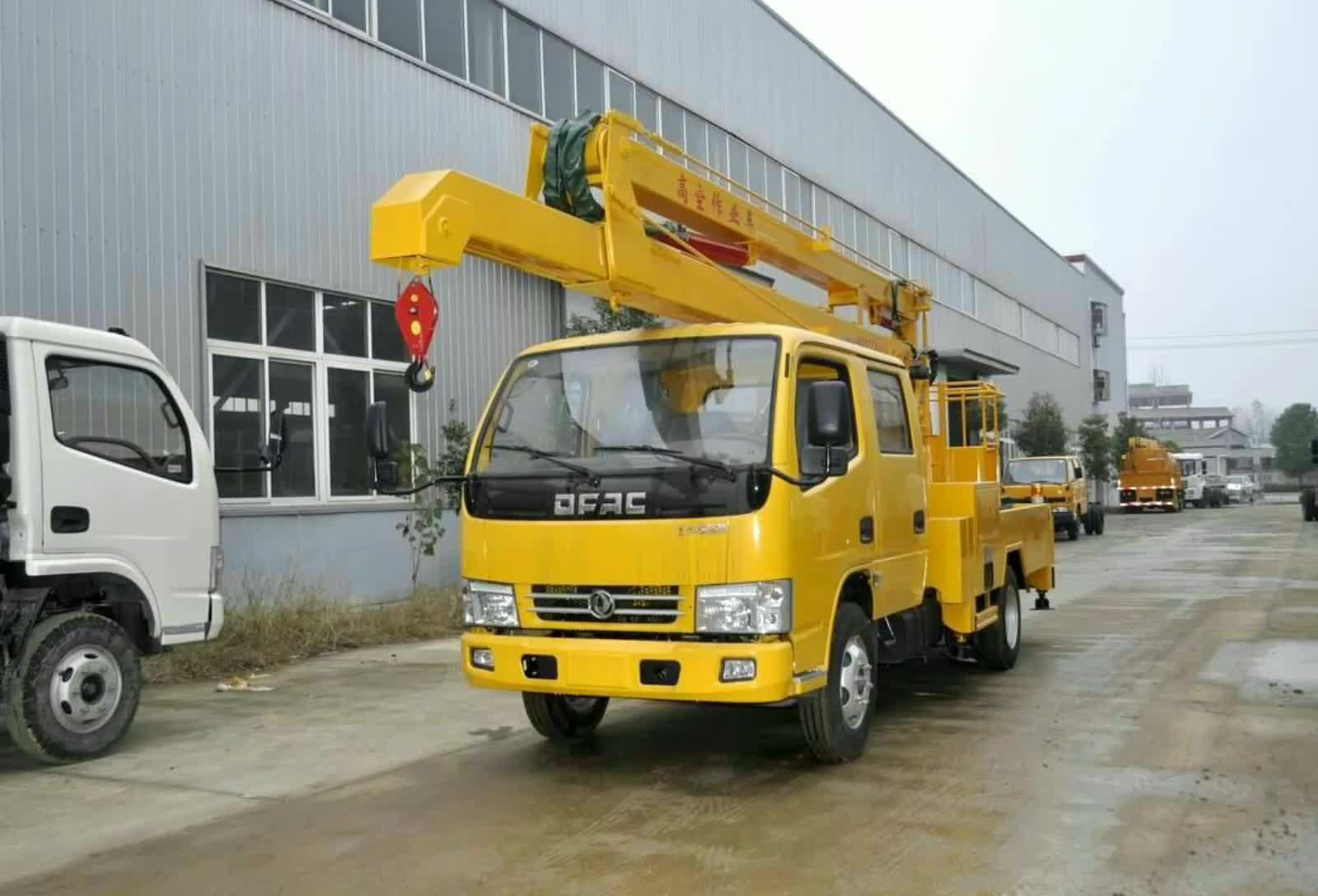 东风凯普特14米高空作业车视频