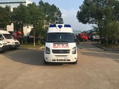 福特新世代V348長軸超人頂監護型救護車順利發往福建