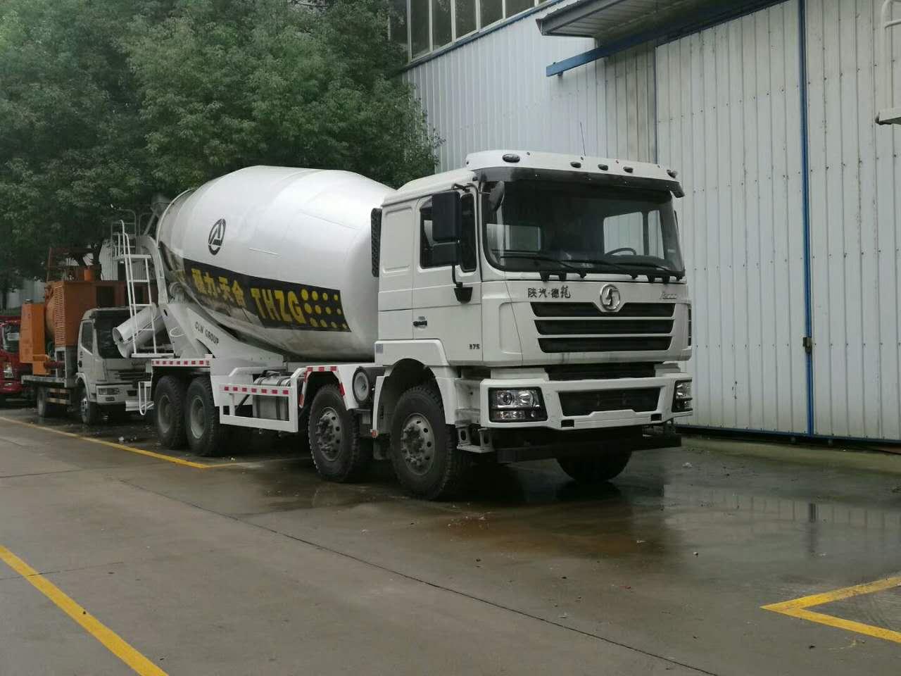 陕汽德龙16-20方混凝土搅拌运输车