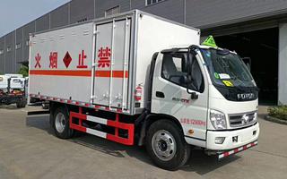 福田奥铃爆破器材运输车图片