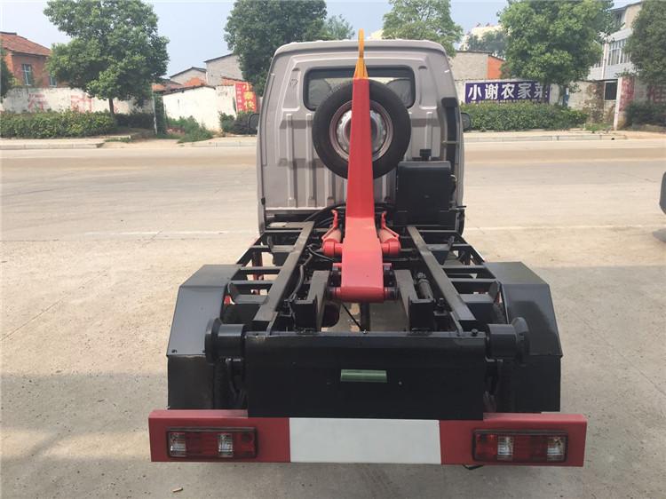 長安車廂可卸式垃圾車(勾臂)環衛車