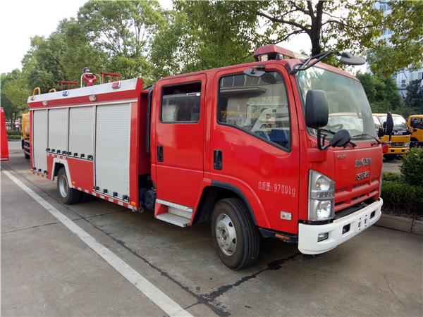 五十铃4吨水罐消防车(国五)图片