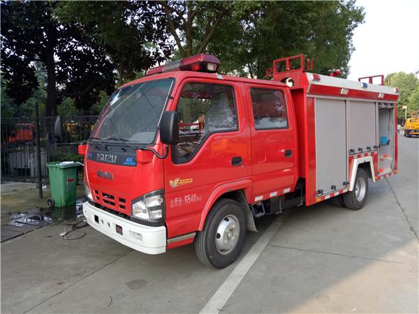 五十铃2吨消防车(国五)图片