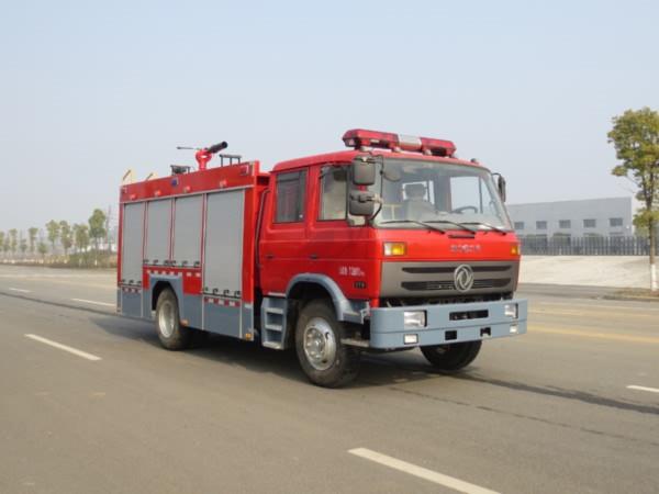 东风145型5吨泡沫消防车(国五)