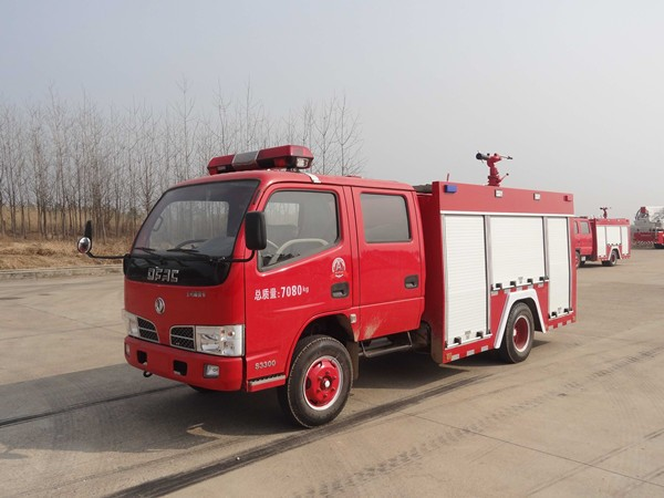 东风2吨水罐消防车(国五)图片