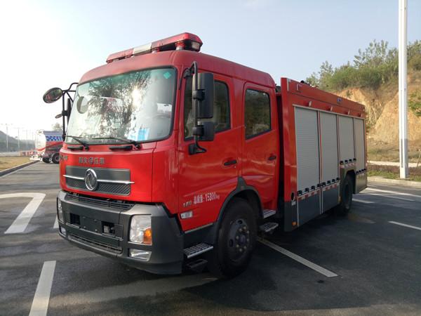 东风天锦6吨水罐消防车(国五)