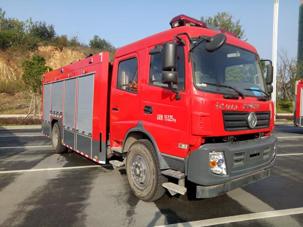 东风153型6吨泡沫消防车(国五)图片