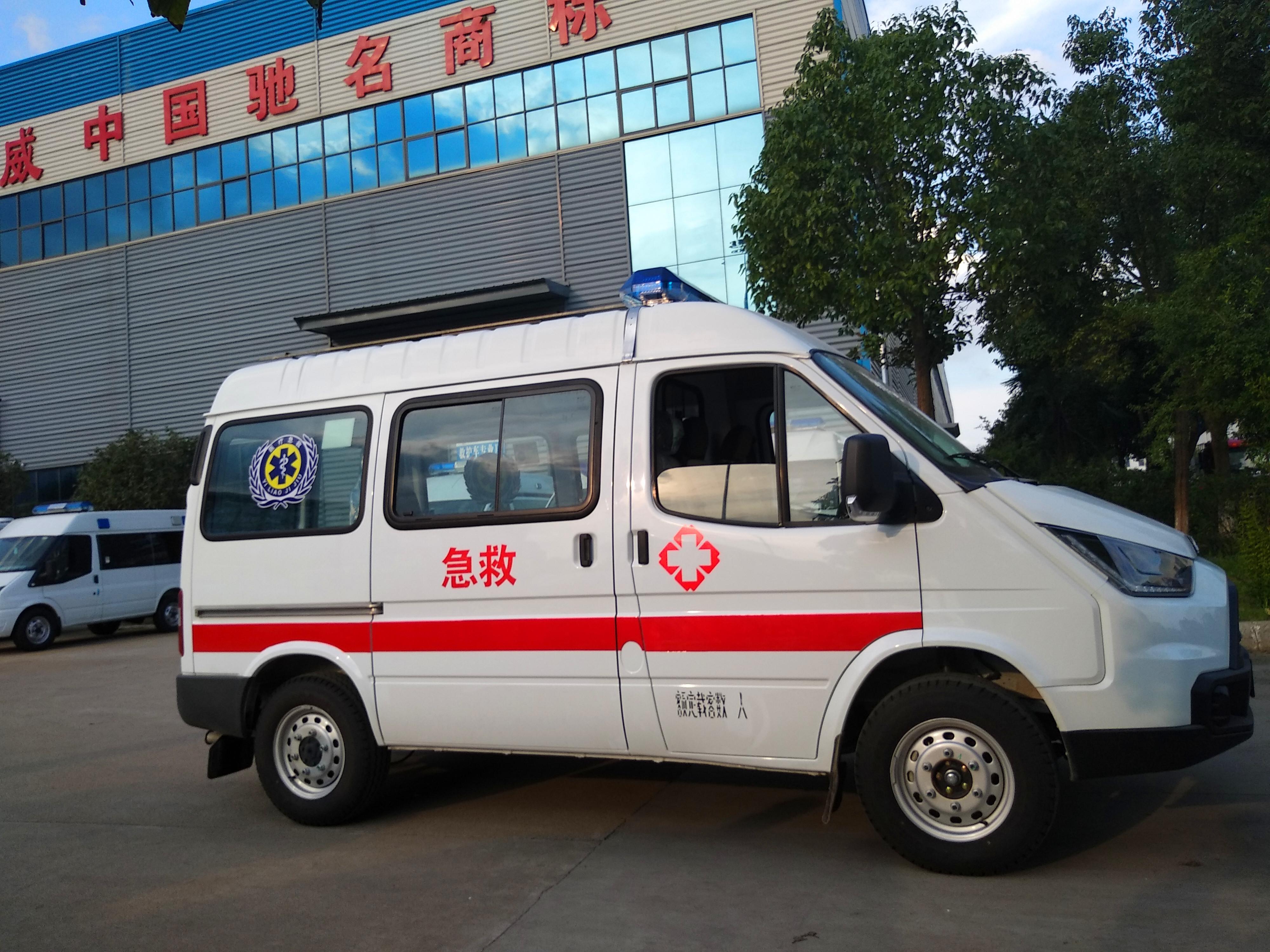 江铃特顺运输型救护车价格