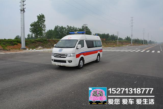 福田G7汽油救護車