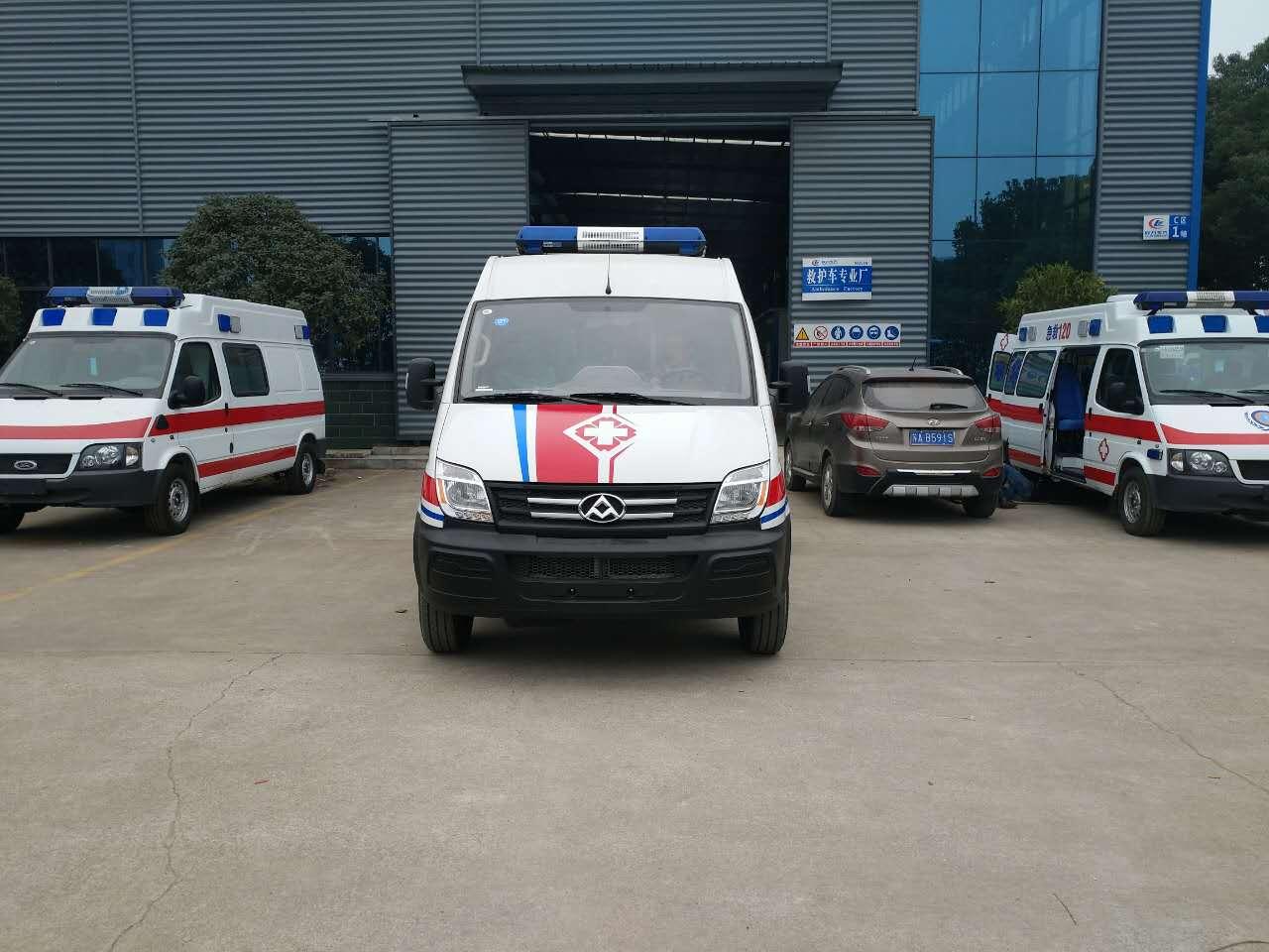 上汽大通短轴运输型柴油版救护车