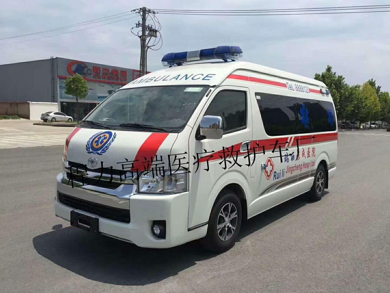 进口丰田HZK5030XJH救护车