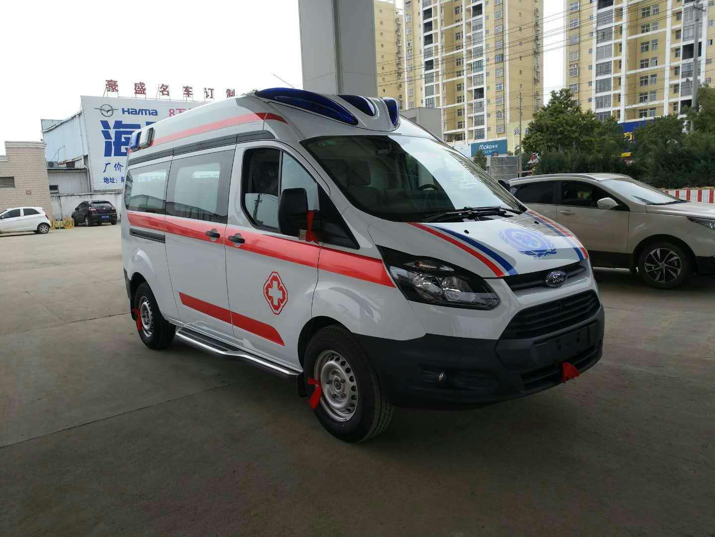 福特新全顺短轴运输型救护车