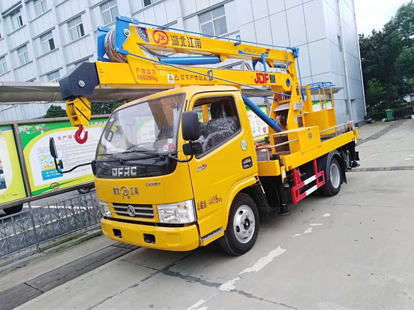 东风12米单排高空作业车2