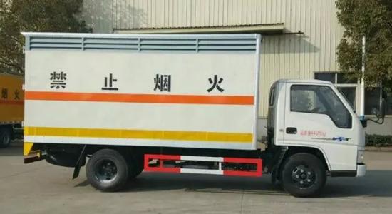 江铃气瓶厢式运输车