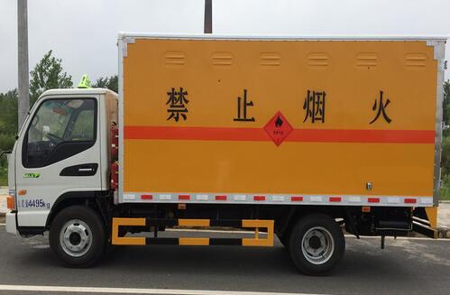 (廂長4.12米)江淮爆破器材運輸車_高清圖片