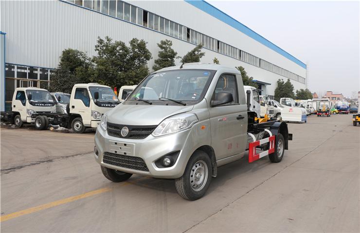 福田伽途(4方)可卸式垃圾車