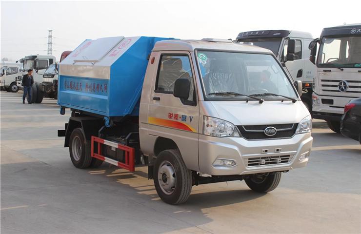 凱馬銳菱(3方)可卸式垃圾車