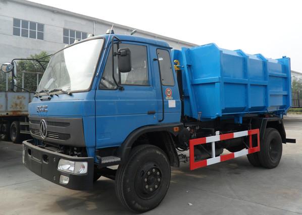 東風145車廂可卸式垃圾車