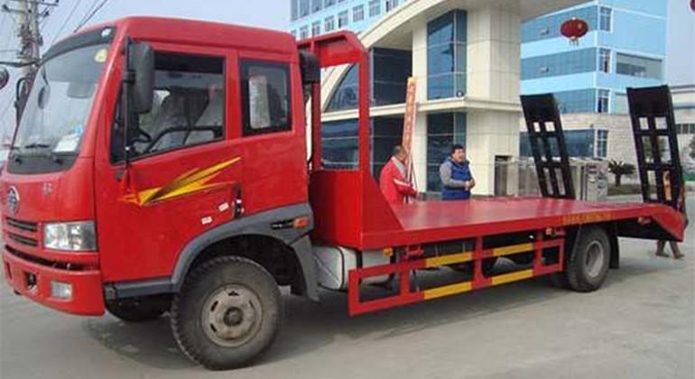 解放悍威平板运输车