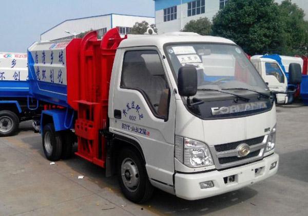 时代小卡2自装卸式垃圾车