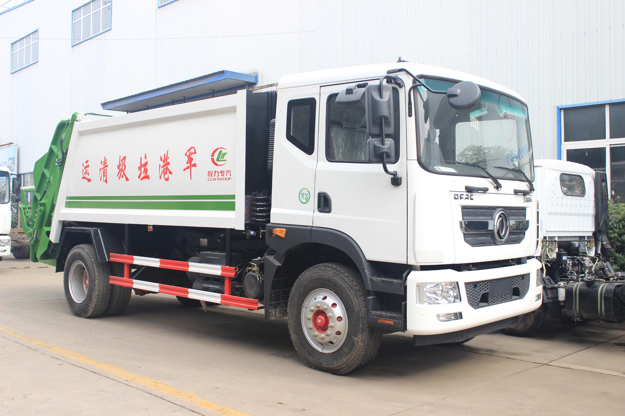東風多利卡D9(12方)壓縮式垃圾車