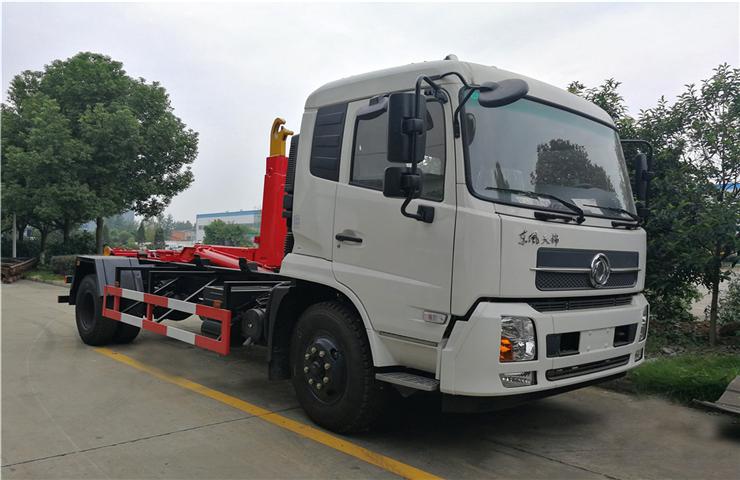 東風天錦(12方)車廂可卸式垃圾車