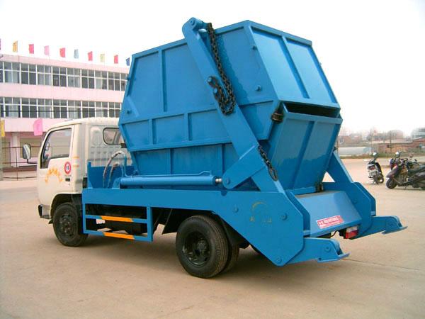 东风锐玲摆臂式垃圾车图片