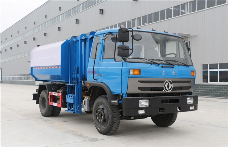 东风145(12方)挂桶式垃圾车