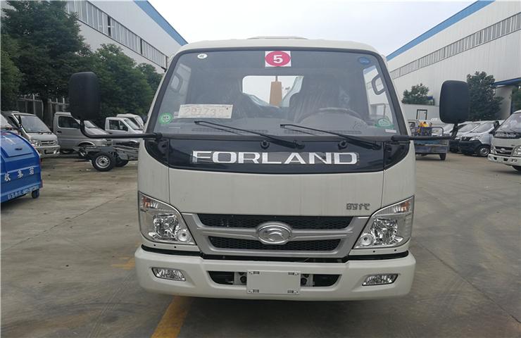 福田小卡(4方)车厢可卸式垃圾车