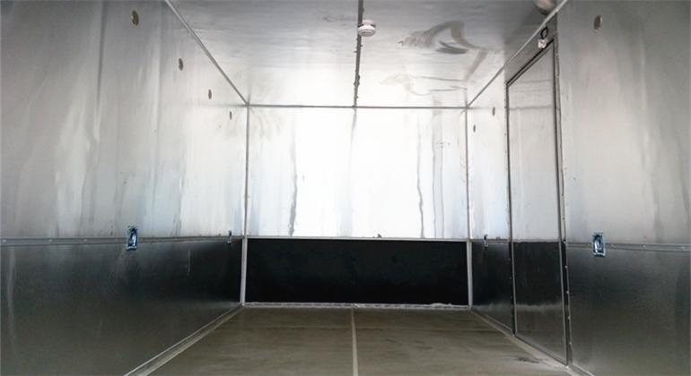 (廂長5.08米)福田歐馬可爆破器材運輸車_高清圖片