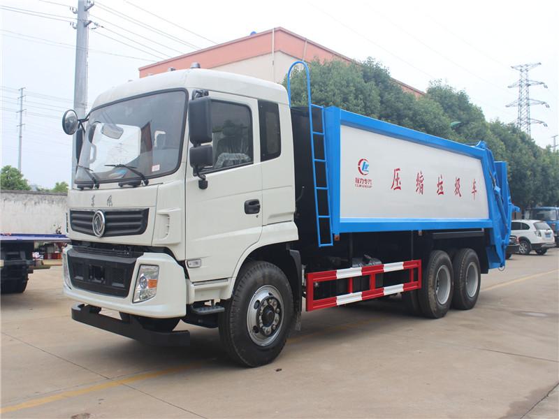 东风御龙后双桥(18方)压缩式垃圾车