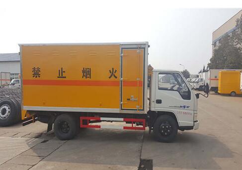 (厢长4.2米)江铃新顺达爆破器材运输车_高清图片