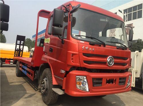 东风特商平板运输车
