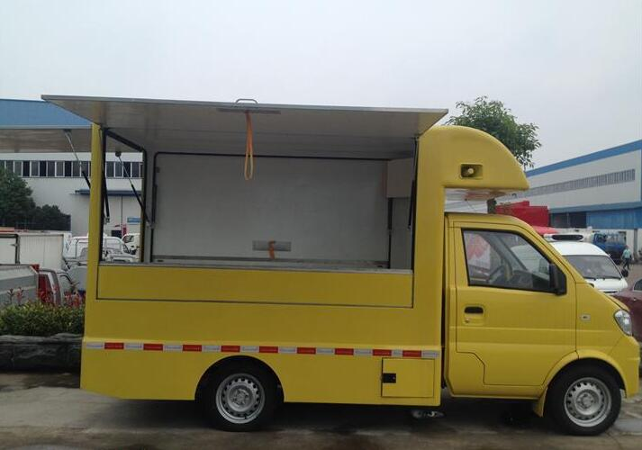 东风小康售货车图片