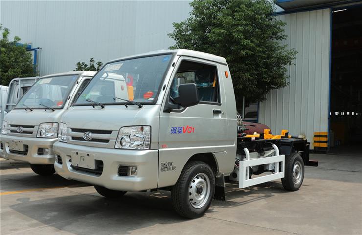 福田馭菱(3方)車廂可卸式垃圾車