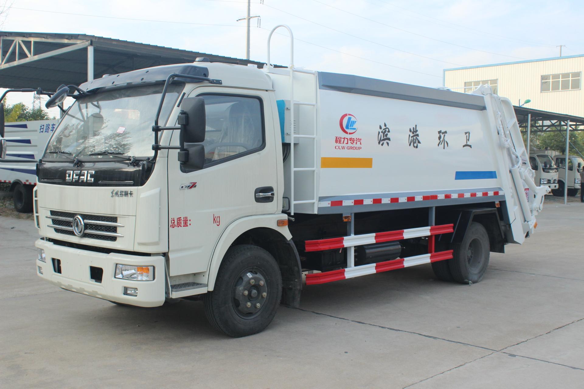 東風大多利卡(8方)壓縮式垃圾車