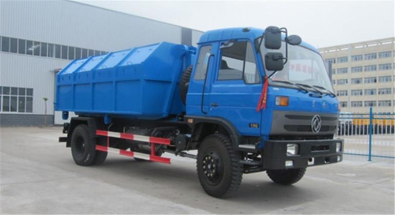 東風153車廂可卸式垃圾車