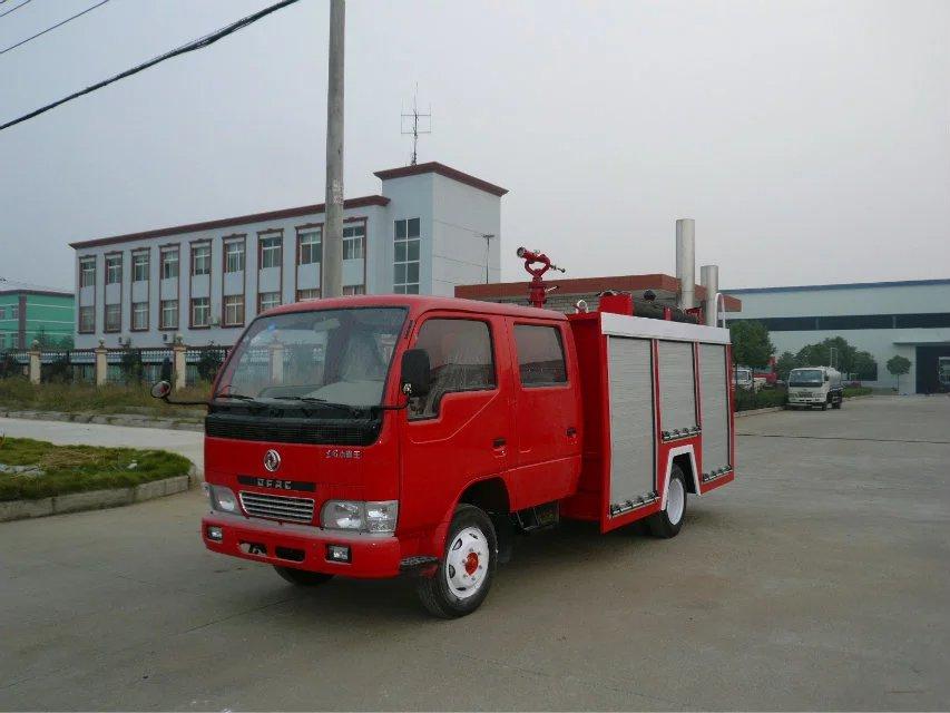 东风双排水罐消防车
