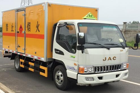 江淮厢式气瓶运输车