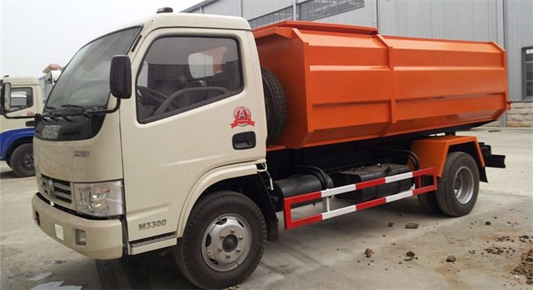 东风锐玲自装卸式垃圾车