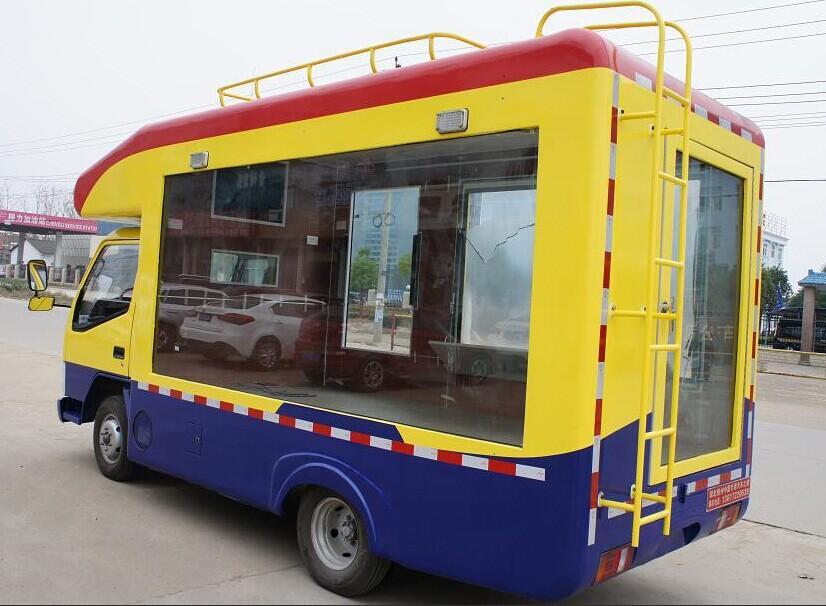 金杯售货车图片