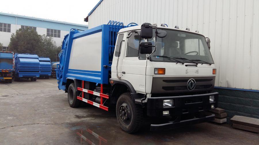 東風145壓縮式垃圾車