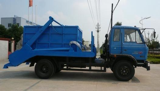 东风145摆臂式垃圾车图片
