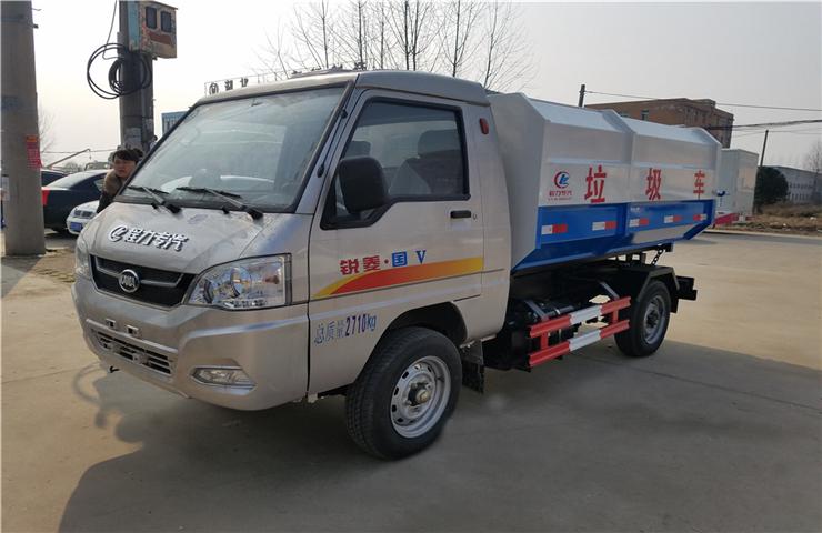 凯马锐菱(2.5方)挂桶式垃圾车